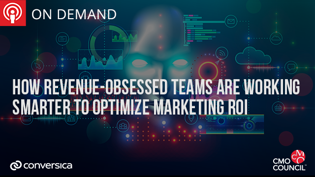 How Revenue-Obsessed Teams are Working Smarter to Optimize Marketing ROI