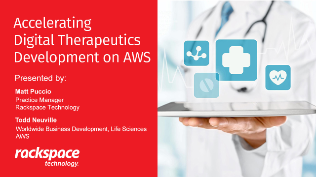 Accelerating Digital Therapeutics Development on AWS