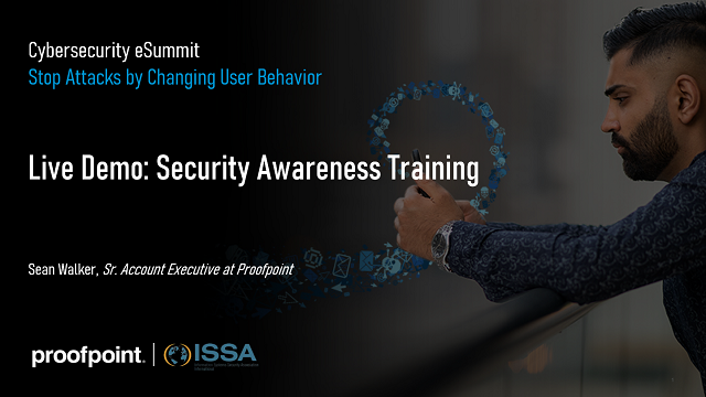 eSummit: Live Demo - Security Awareness Training