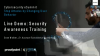 Live Demo – Security Awareness Training