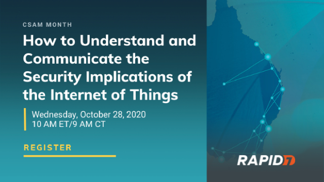 How to Understand and Communicate the Security Implications of IoT