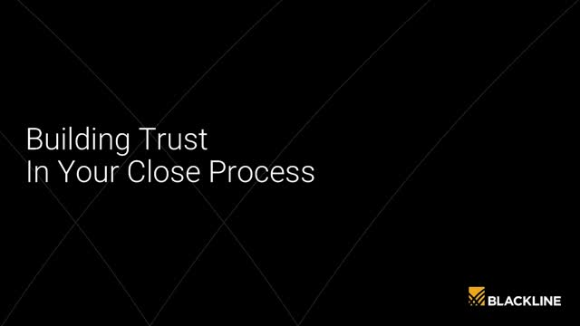 Building Trust in Your Close Process