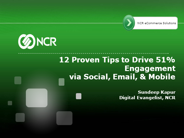 12 Proven Tips to Drive 51% Engagement via Social, Email & Mobile