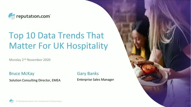 The Top 10 Data Trends That Matter For UK Hospitality