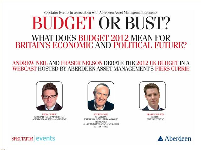 Budget or Bust?