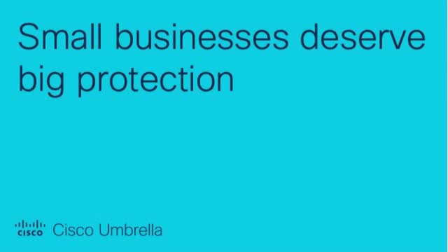 Small businesses deserve big protection