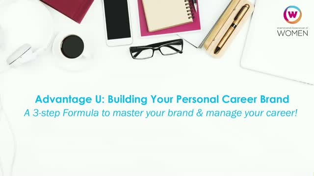 Advantage U: Building Your Personal Career Brand