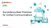 Surveillance Best Practices for Unified Communications