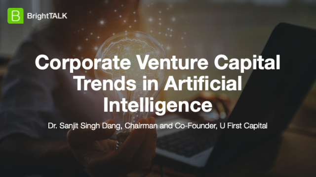 Corporate Venture Capital Trends in Artificial Intelligence