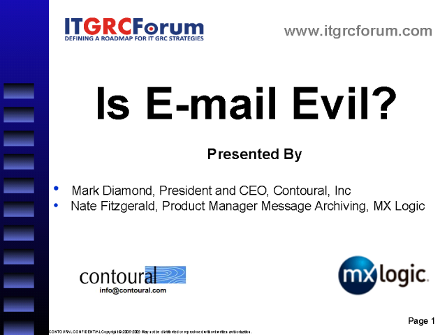 Is Email Evil?