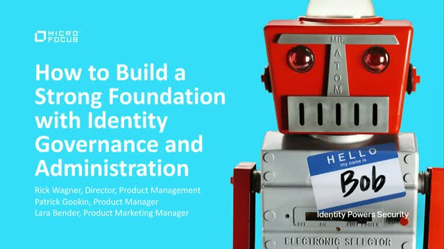How to Build a Strong IAM Foundation with Identity Governance and Administration