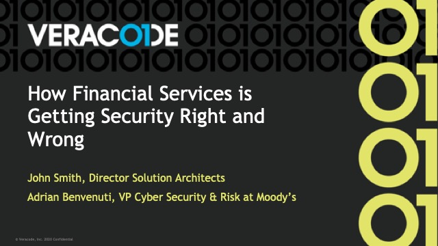 How Financial Services Is Getting Cyber Security Right and Wrong