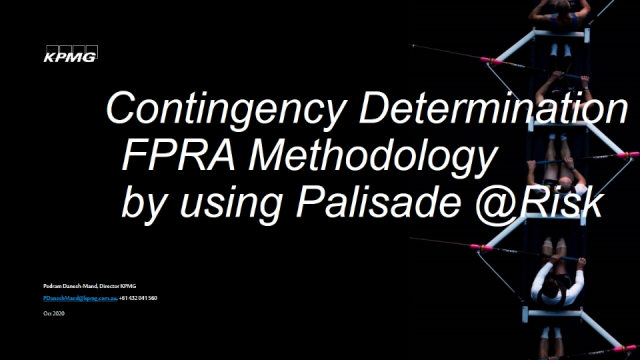 Major Projects and the (FPRA) Methodology by Using @RISK for Cost Contingency