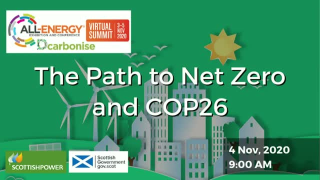 The Path to Net Zero and COP26