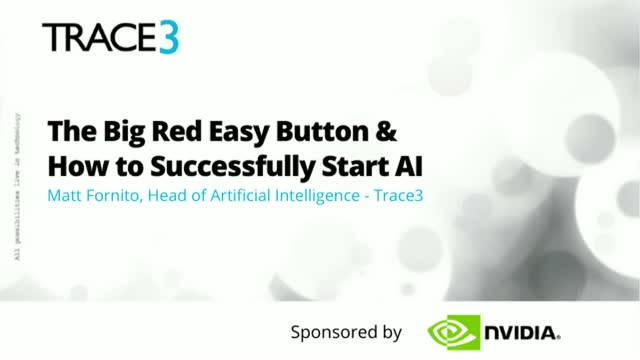 AI Journey Guide: The Big Red Easy Button & How to Successfully Start AI