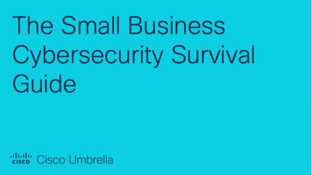 The Small Business Cybersecurity Survival Guide