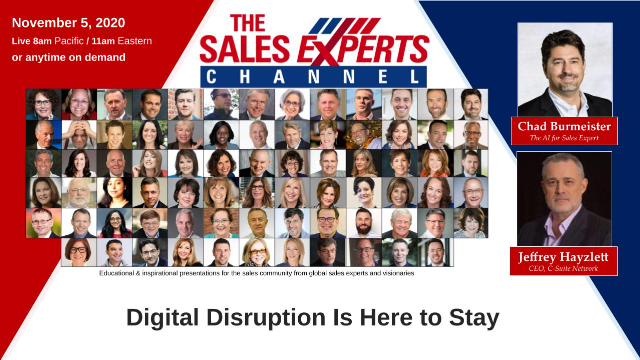 Digital Disruption in Sales Is Here to Stay
