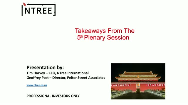 Takeaways From The 5th Plenary Session of the Communist Party of China