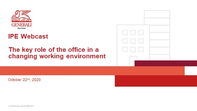 The key role of the office in a changing working environment