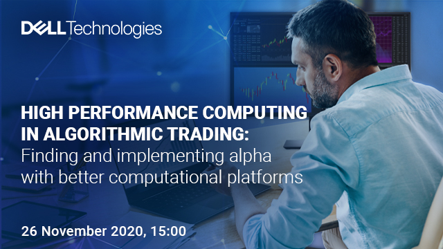 High Performance Computing in Algorithmic Trading