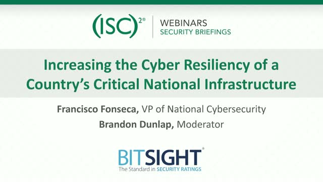 Increasing the Cyber Resiliency of a Country's Critical National Infrastructure