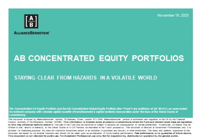 Concentrated Equity Investing: Steering Clear from Hazards