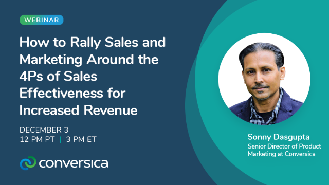 Rally Sales & Marketing Around the 4Ps of Sales Effectiveness to Boost Revenue