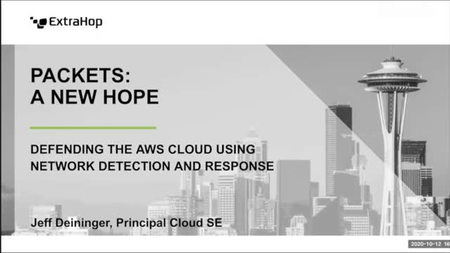 Packets: Defending the Cloud with Network Detection & Response