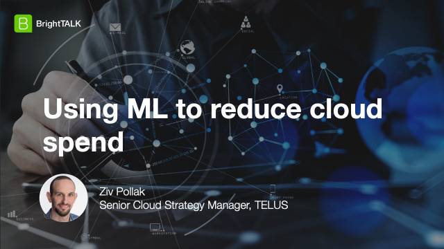 Using ML to reduce cloud spend