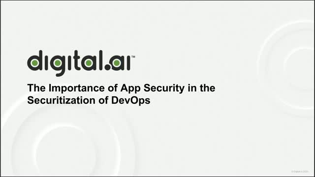The Importance of App Security in the Securitization of DevOps