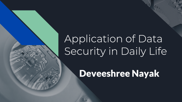 Application of Data Security in Daily Life