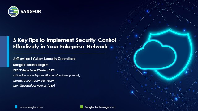 3 Key Tips to Implement Security Control Effectively in Your Enterprise Network
