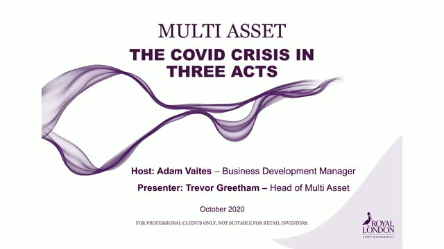 Multi asset - the Covid crisis in three acts