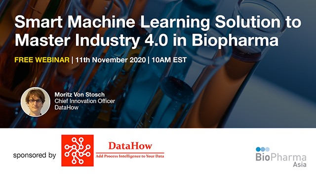 Smart machine learning solution to master industry 4.0 in biopharma