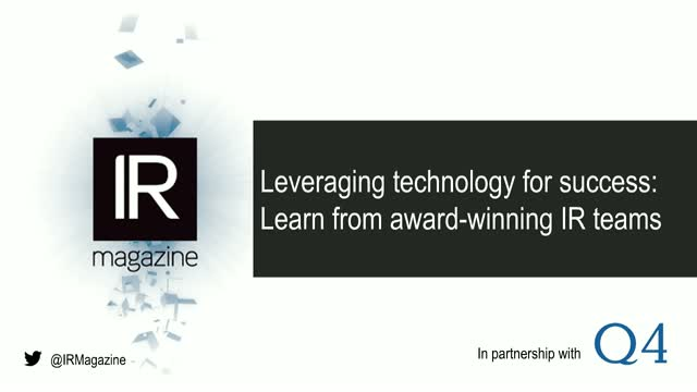 Webinar – Learn from the best: Award-winning investor relations