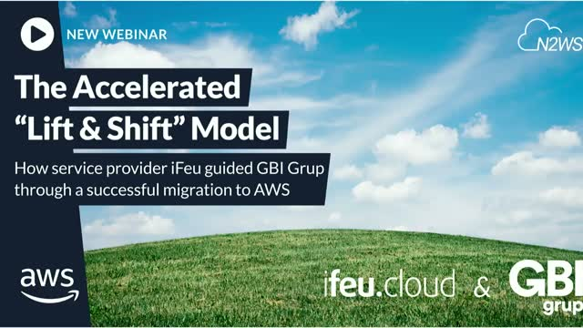 "The accelerated ""lift and shift"": How iFeu guided a successful migration to AWS"