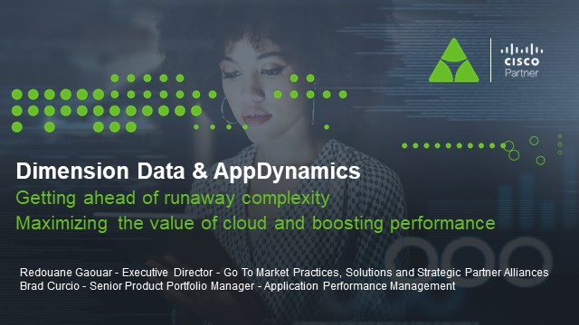 AppDynamics & Dimension Data enable Hybrid-Cloud in the Middle-East