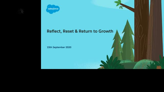 Reflect, Reset & Return to Growth