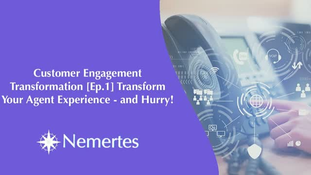 CET [Ep.1] Transform Your Agent Experience - and Hurry!