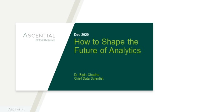How to Shape the Future of Analytics