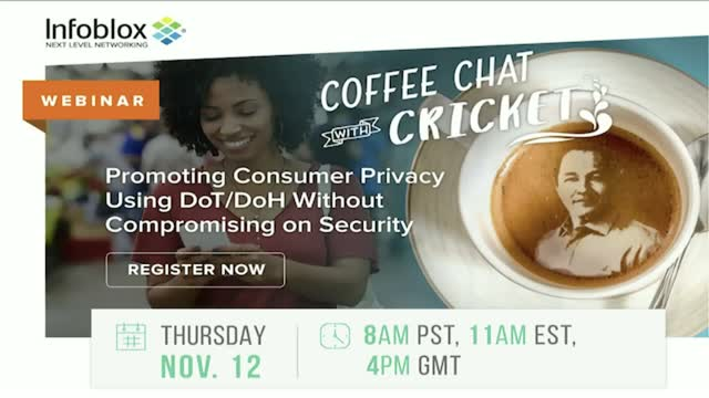 Coffee Chat w/ Cricket– Consumer Privacy Using DoT/DoH w/o Compromising Security