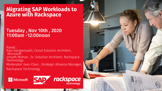 Migrating SAP Workloads to Azure with Rackspace