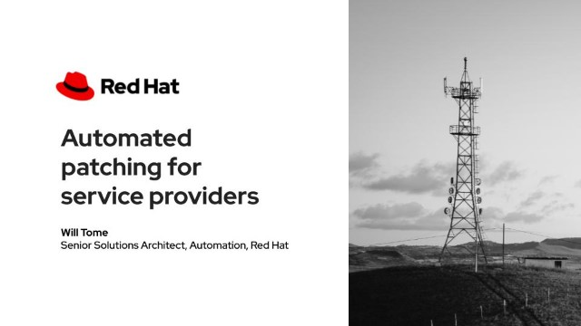 Automated patching for service providers