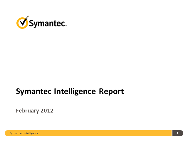 Monthly Symantec Intelligence Report (Greek)