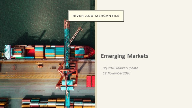 R&M Update - Emerging Markets Equities