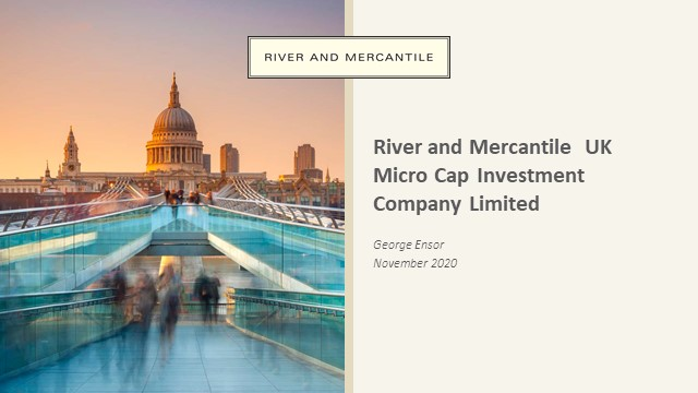 R&M update - R&M UK Micro cap Investment Company
