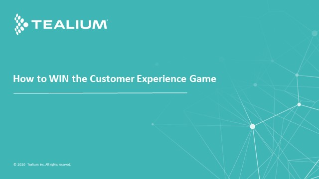 How to WIN the Customer Experience Game