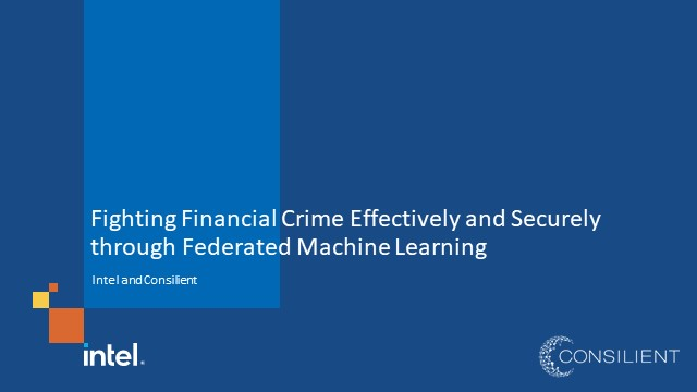 Fighting Financial Crime Effectively through Federated Machine Learning