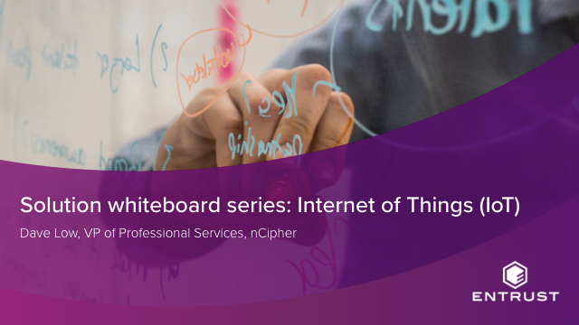 Solution whiteboard series: Internet of Things