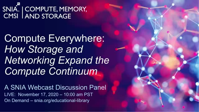 Compute Everywhere: How Storage and Networking Expand the Compute Continuum